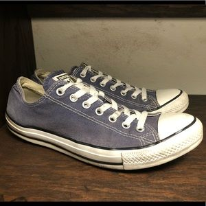 Navy Converse All Stars Size 10